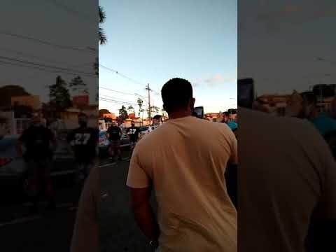 Manifestação para a reabertura das academias aconteceu neste sábado (9) em Araxá