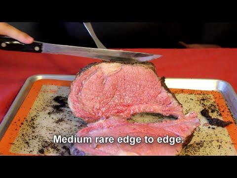 Sous Vide Prime Rib Perfect Medium Rare Youtube