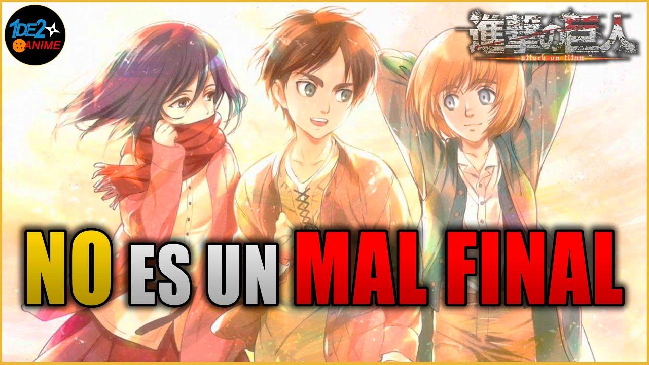 Download FINAL EXPLICADO - Shingeki no kyojin: ANÁLISIS MANGA 139 - ¡NO ES UN MAL FINAL!
