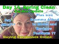 Day 14 Spring Clean Garden Update, Purchasing Online Eyeglasses? Plus Size Gramma to model Clothes?