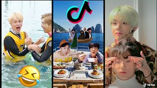 bts funny moments tiktok compilations/ try to not laugh