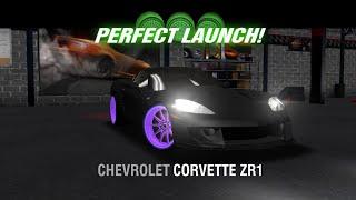 racing rivals chevrolet corvette zr1 perfect launch tutorial