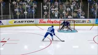 NHL 14 (PS3) - Online Shootout EP #1 - Anaheim vs Toronto (ME)