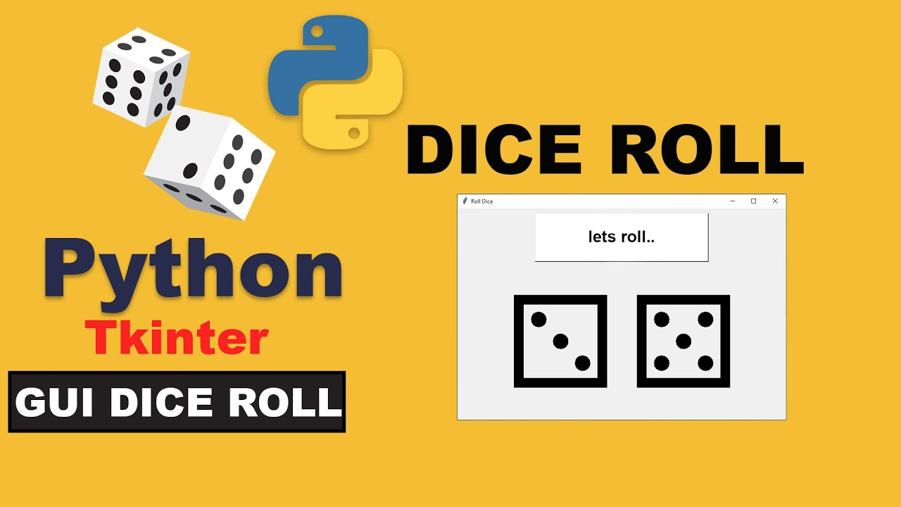How to Create Dice Roll  Using Python