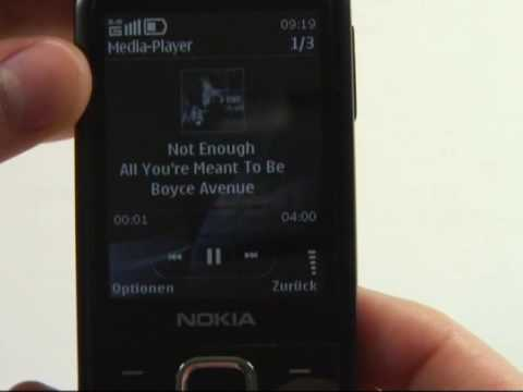 Nokia 6700 classic Test Musikplayer