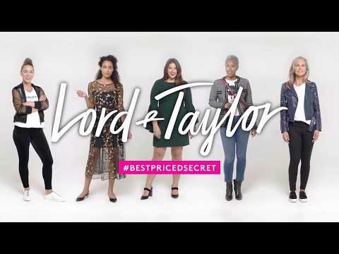 Lord & Taylor   'Best Priced Secret' 30 Second Spot