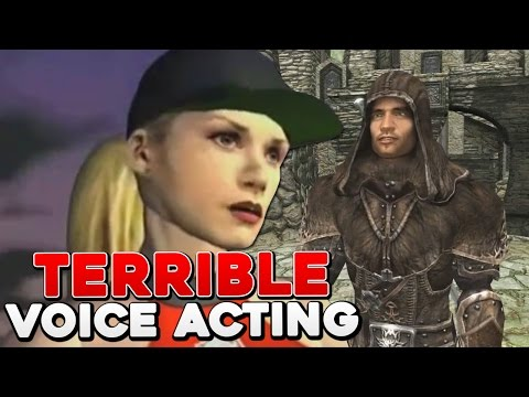 10 Video Games With The Worst Voice Acting!