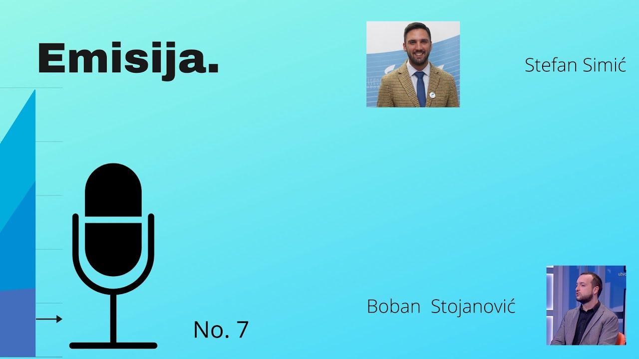 EMISIJA (E7): Stefan Simić