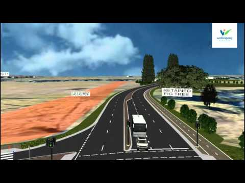 Fowlers Road to Fairwater Drive link concept design video