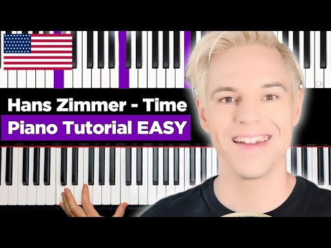 Hans Zimmer - Time - EASY Piano Tutorial thumbnail