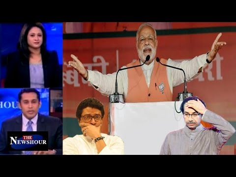 BMC Polls 2017: BJP's Roar To Echo In Uttar Pradesh Too?: The Newshour Debate (23rd Feb)