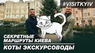 Секретные маршруты Киева. Коты экскурсоводы.