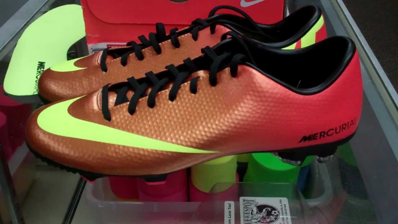 5e110a624 Nike Mercurial Victory IV Review and Unboxing - YouTube
