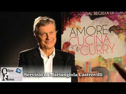 """Lasse Hallström a Roma per il lancio di """"Amore, Cucina e Curry"""" prodotto da Steven Spielberg"""