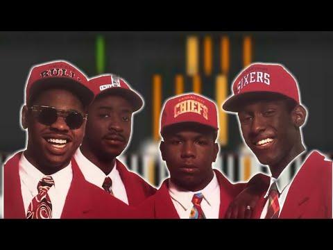 """♬ Boyz II Men """"Bended Knee"""" Piano Tutorial *R&B In Eb Major - By Soulphonic ♬"""