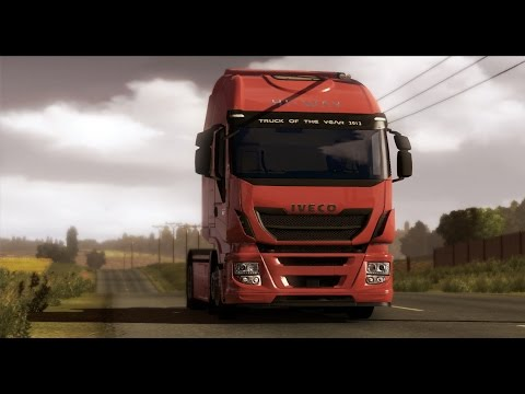 "Euro Truck Simulator 2 ""Forklift from kiel to gdansk"""