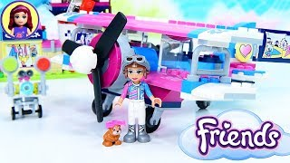 Lego Friends Heartlake City Airplane Tour Build Review Silly Play