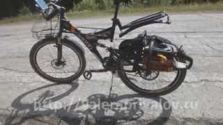Motor Vernor XC - велосипед с мотором от бензопилы в 2014 году(Моя вторая попытка приспособить бензопилу в качестве мотора к велосипеду. Еще инфа на сайте - http://valeraprivalov.ru/m..., 2014-07-01T11:06:58.000Z)