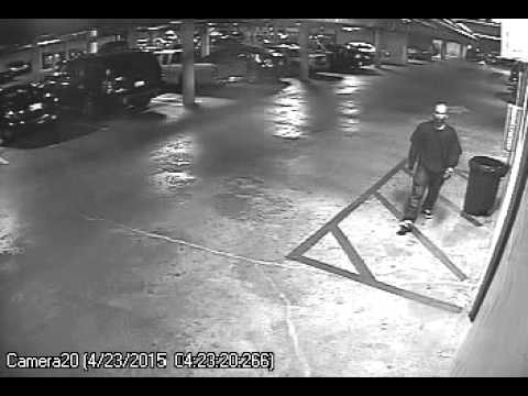 04-23-15 04:23am - Asian male casing the property and breaking into cars