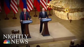 Congressional GOP Scrambles To React Amid President Donald Trump Helsinki Fallout | NBC Nightly News