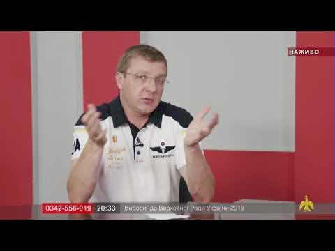 Марафон: вибори до Верховної Ради України-2019. М. Палійчук
