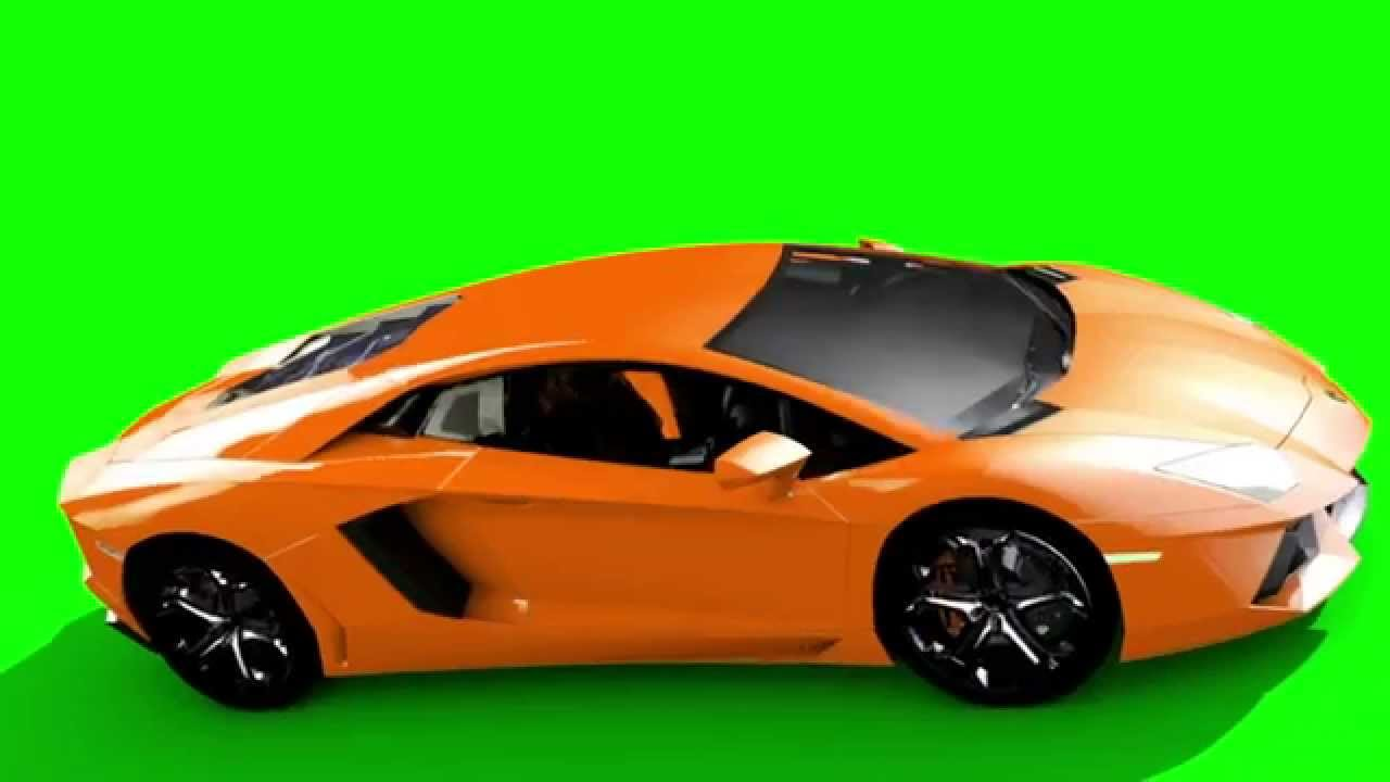 Green Screen Supercar Lamborghini Aventador Hd Footage Pixelboom