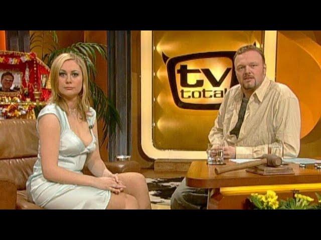 Ruth Moschner und die Kabelträger - TV total