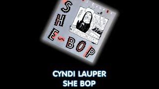 Cyndi Lauper - She Bop [Instrumental]