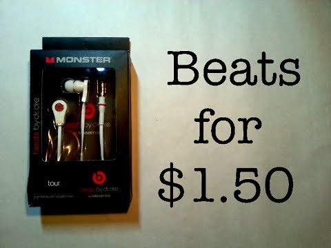 How Cheap Can It Be?  $1.50 Replica Beats By Dr. Dre!
