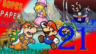 La Brutalteza en el Equipo【Super Paper Mario】Ep.21