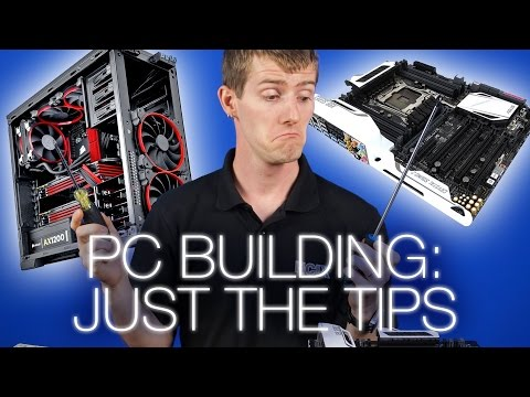 5 Important Tips for PC Building