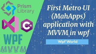 First Metro UI application with MVVM in wpf screenshot 5