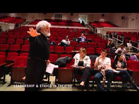 Learning About Leadership & Ethics Through an MBA Theatre Course