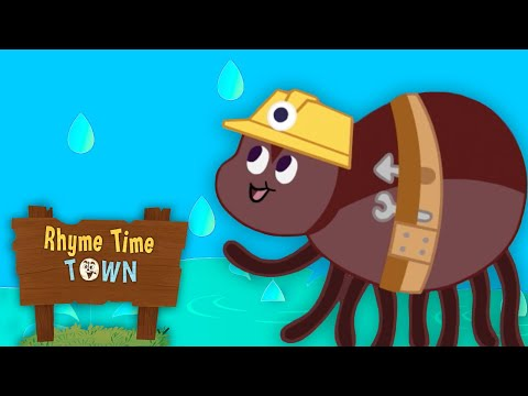 itsy-bitsy-spider-|-rhyme-time-town-nursery-rhymes-|-dreamworks-jr