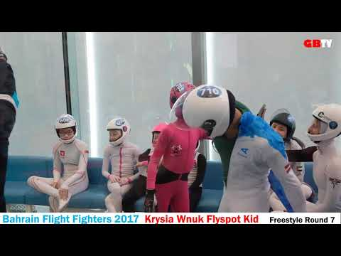 Krysia Wnuk at Bahrain Flight Fighters 2017, round 7