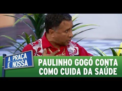 A Praça é Nossa (02/06/16)  Paulinho Gogó conta como cuida da saúde