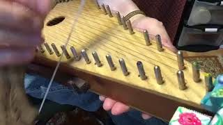 Bowed Psaltery plays Scheidler's Sonata in D