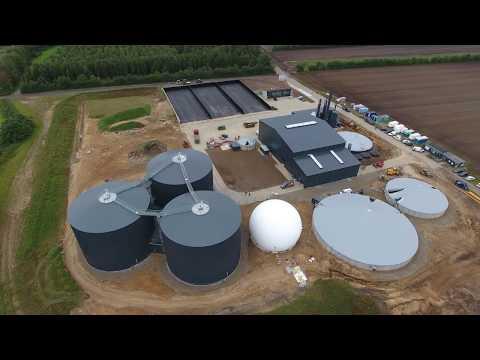 Nature Energy - bygger Danmarks største økologiske biogasanlæg i Brande - september 2017