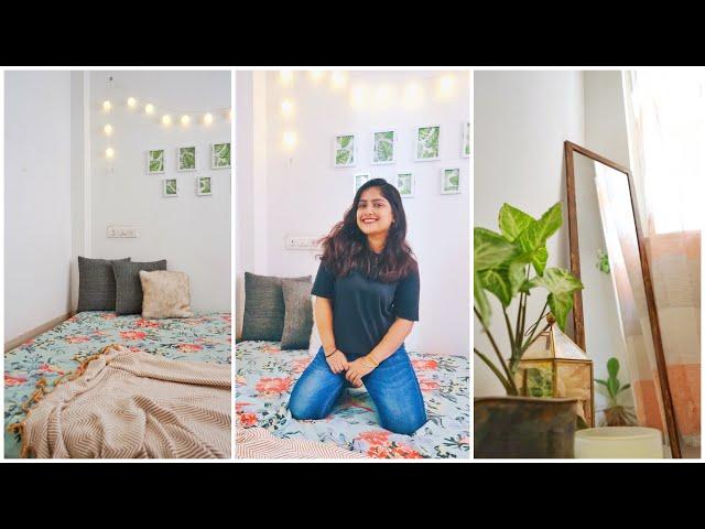 Small Bedroom Makeover || Rental Friendly Decor || Interior Maata