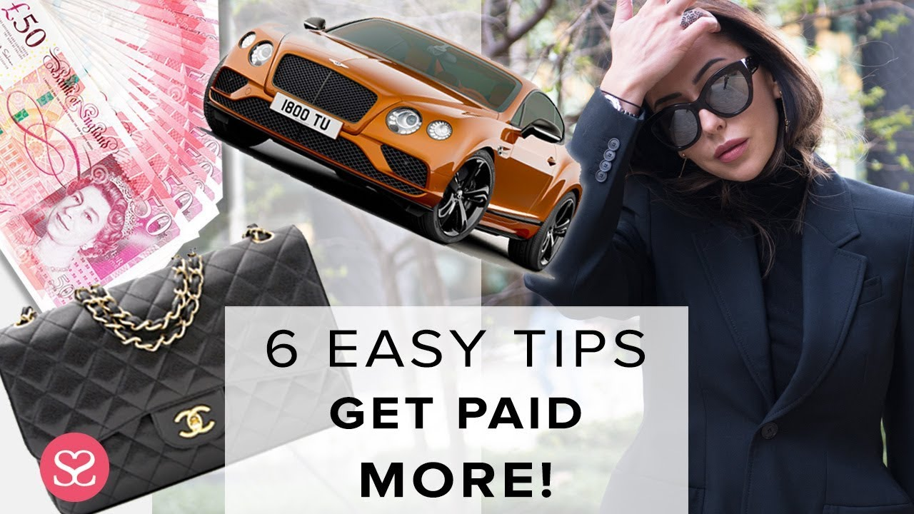 GET MORE MONEY DOING YOUR JOB | 6 Easy & Fast Tips! | Sophie Shohet