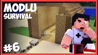 Depo ve Lokomotif Binası - Minecraft Modlu Survival - #6
