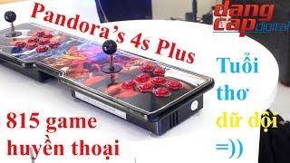 Máy chơi game Pandora's 4s Plus với 815 tựa game huyền thoại - Dangcapdigital.vn