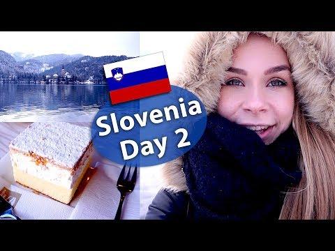Slovenia Travel Vlog Day 2 - Lake Bled & Cream Cake