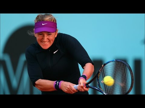 Madrid Open   Victoria Azarenka Retires From Madrid With Back Injury