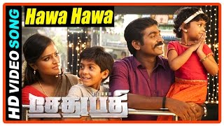 Sethupathi Tamil Movie | Scenes | Hawa Hawa song | Vijay Sethupathi remind Remya to wish her parents