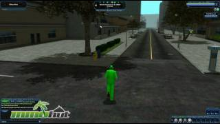 City of Heroes Gameplay - First Look HD