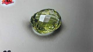 Dibujando un cuarzo de limon: ¿Cómo dibujar una piedra preciosa?