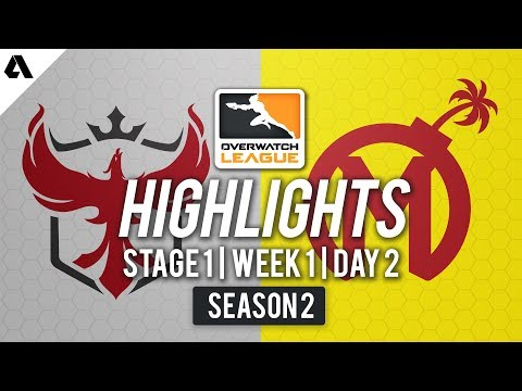 Atlanta Reign vs Florida Mayhem | Overwatch League S2 Highlights - Stage 1 Week 1 Day 2