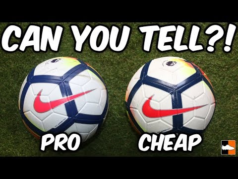 b79ee0de5 Spot The Difference?! New Nike 2017-18 Premier League Balls Tested ...