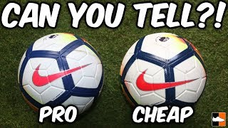 Spot The Difference?! New Nike 2017-18 Premier League Balls Tested